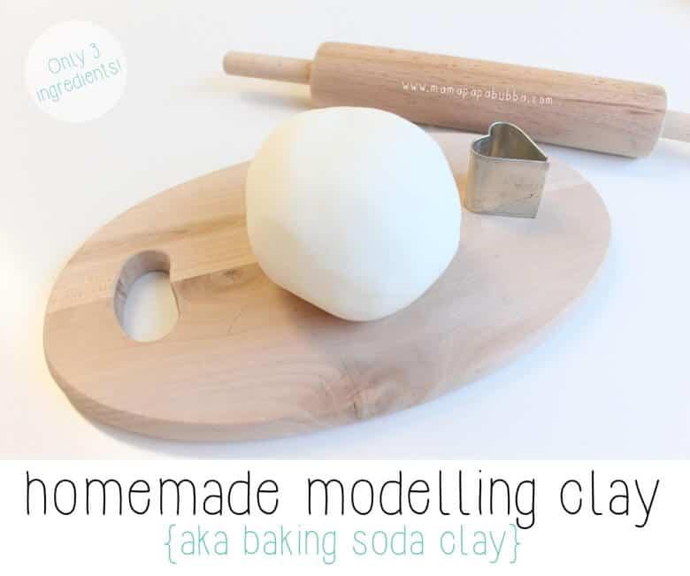 homemade clay, craft for senior
