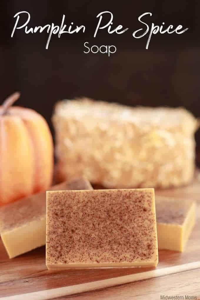 homamade pumpkin soap