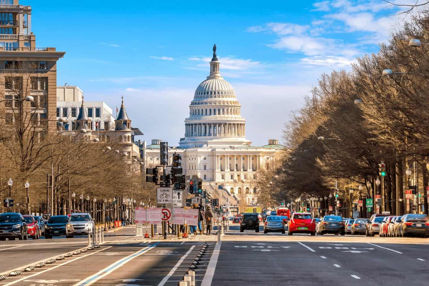 Washington D.C white house