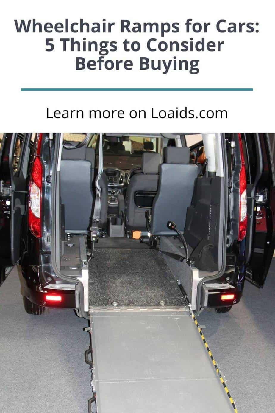 foldable wheelchair ramps for cars