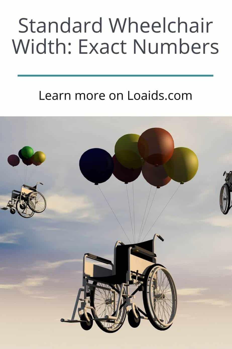 standard wheelchairs width exact measurements