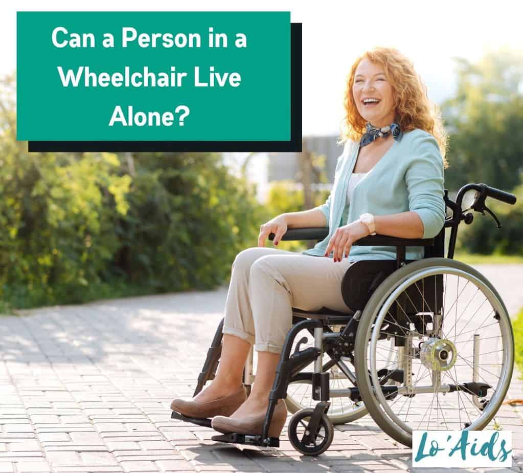 a middle-aged woman sitting in a wheelchair