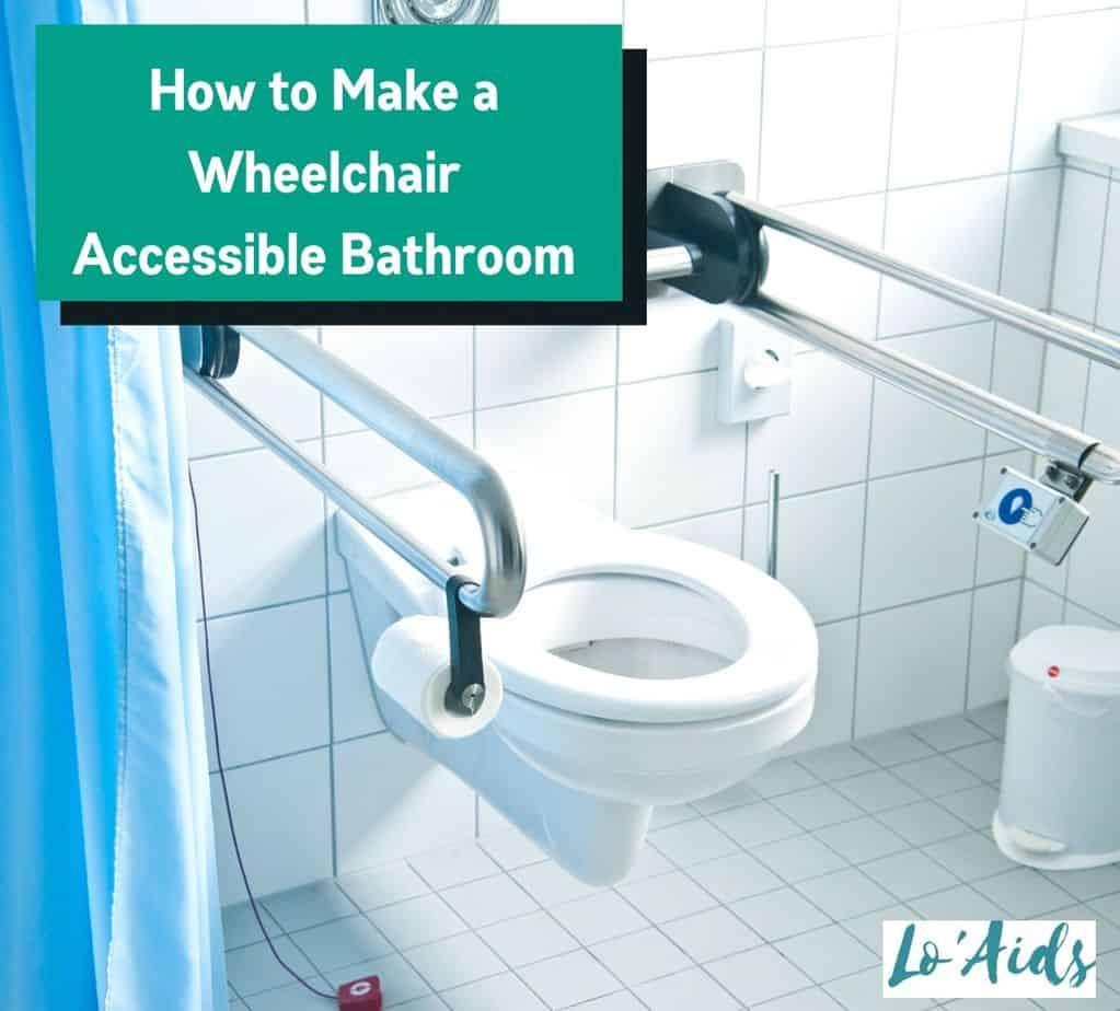 a clean wheelchair accessible bathroom