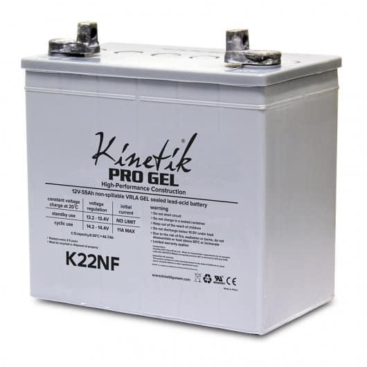 K22NF Kinetik Pro Gel Battery
