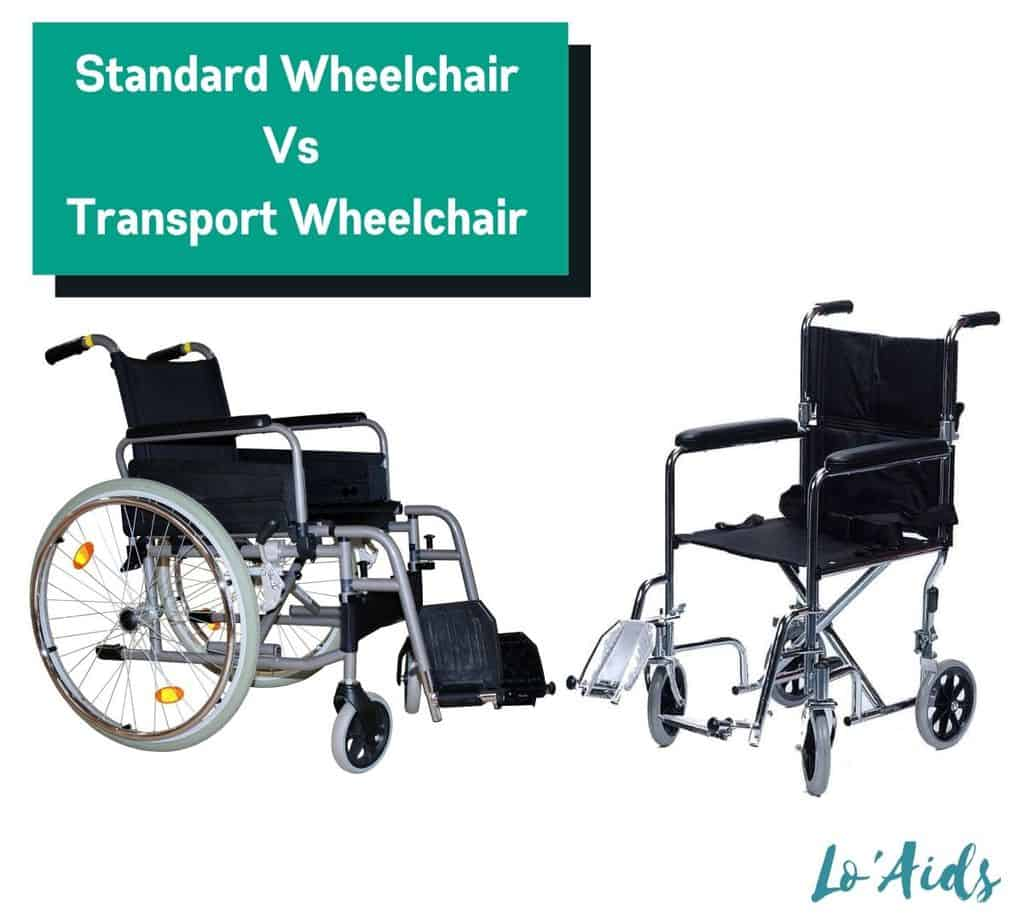 comparing Standard Wheelchair Vs Transport Wheelchair