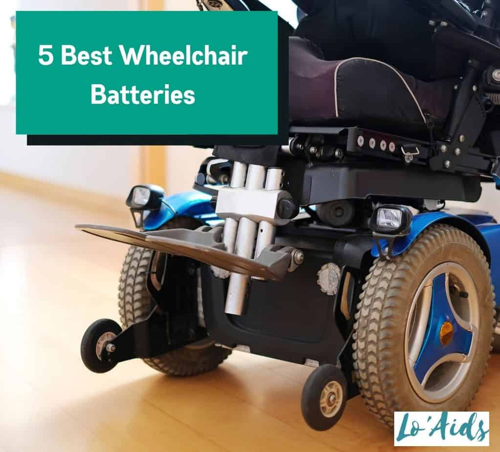 power wheelchair with inclusion of the best wheelchair battery