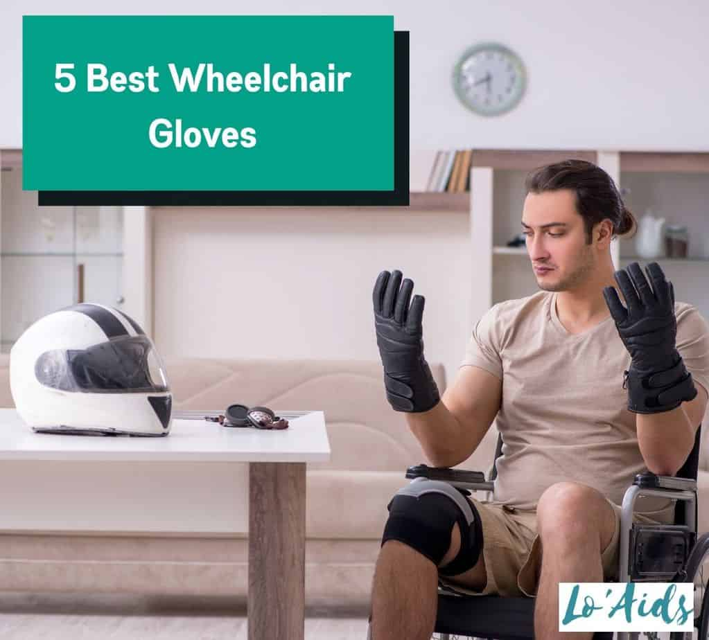 a former motorcycle rider looking at the best wheelchair gloves he's using