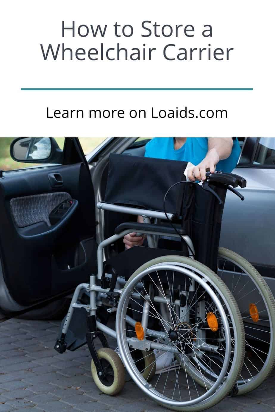 Knowing how to store a wheelchair carrier properly is a must to make sure that your wheelchair is safe during transit. Read on for more info and useful tips!