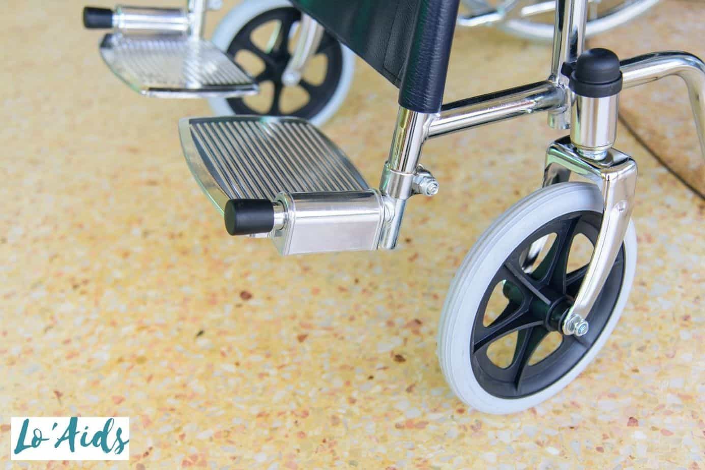 transport wheelchair brake