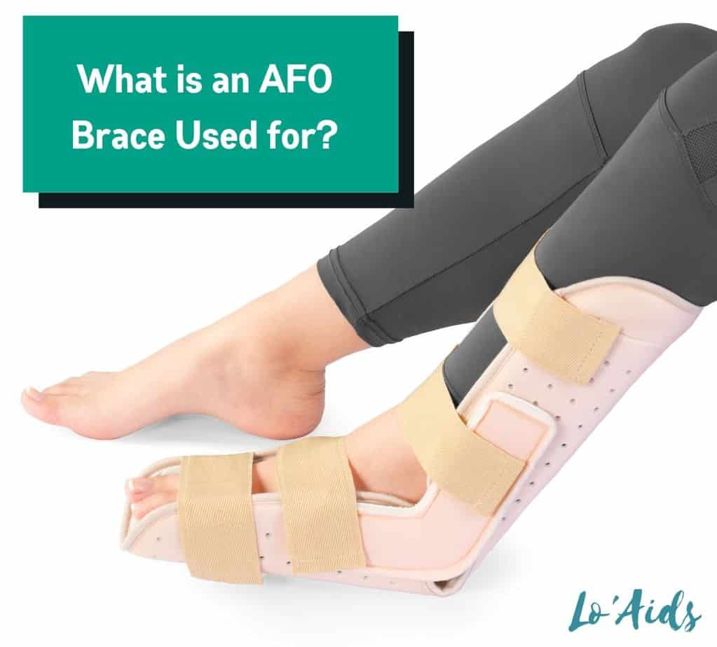 lady using an afo brace but what is an AFO brace used for?