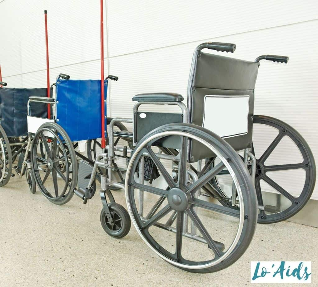 different types of used wheelchair