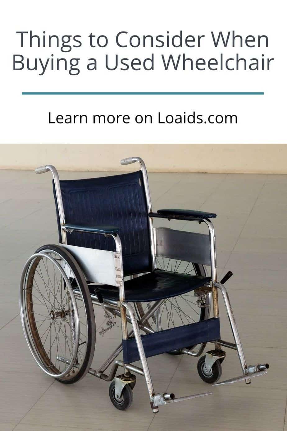 a navy blue manual wheelchair