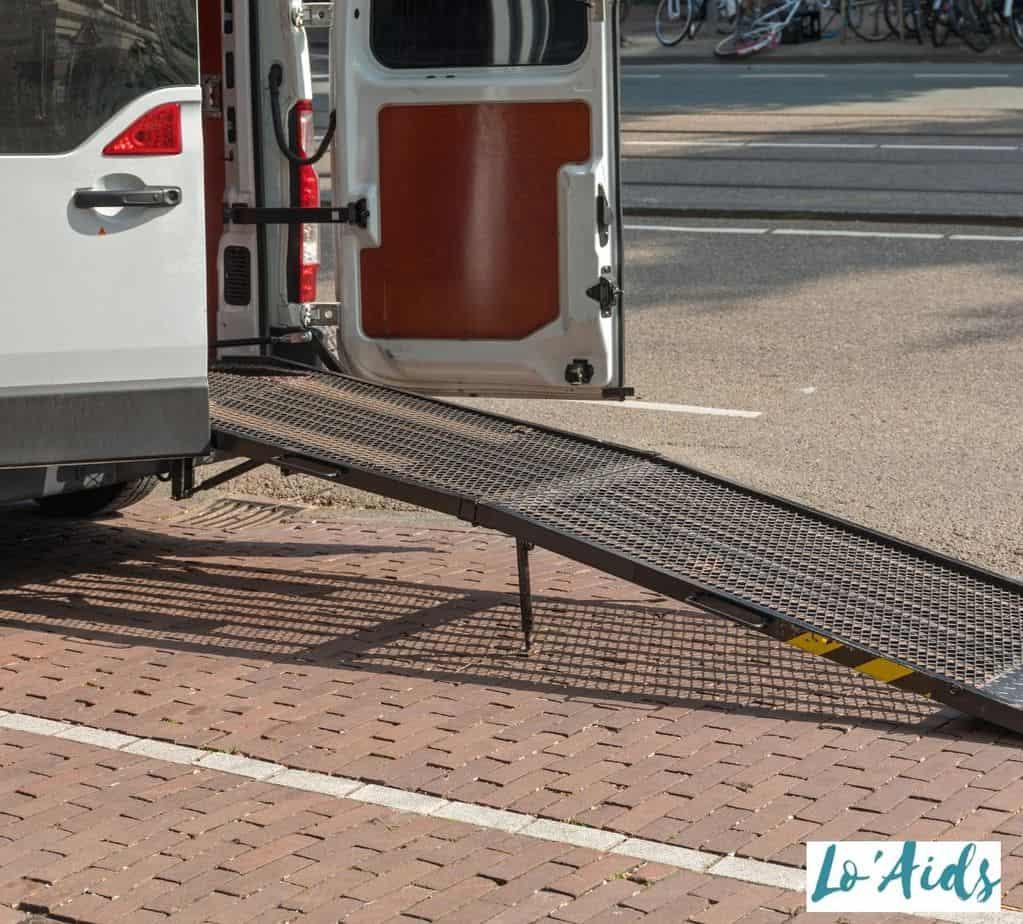 wheelchair ramp for cars