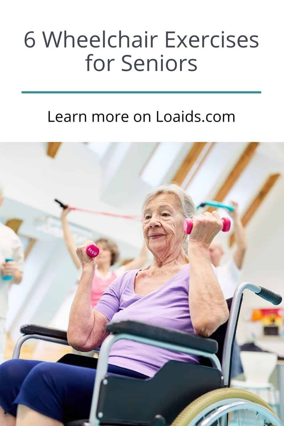 Looking for the best wheelchair exercises for seniors? We've got you! Check out 6 great seated exercise moves to try plus benefits and safety tips here!