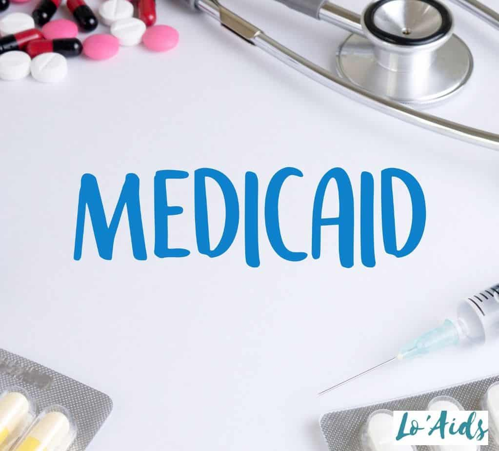 """""""Medicaid"""" written on a white paper"""