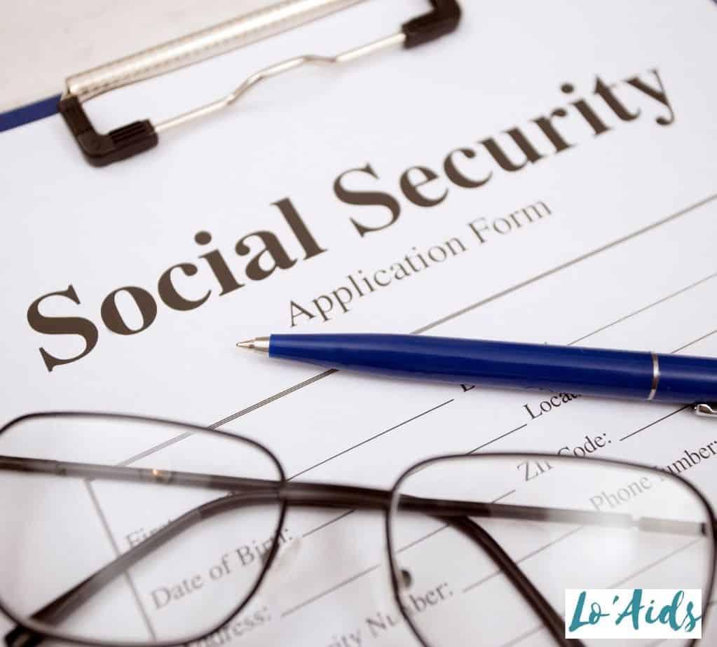 social security application form