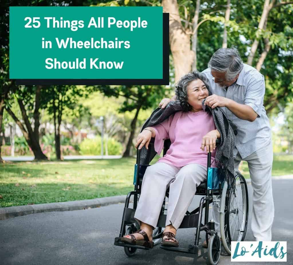 senior man putting a jacket to his lovely wife in a wheelchair, one of the things all people in wheelchairs should know is they are being loved