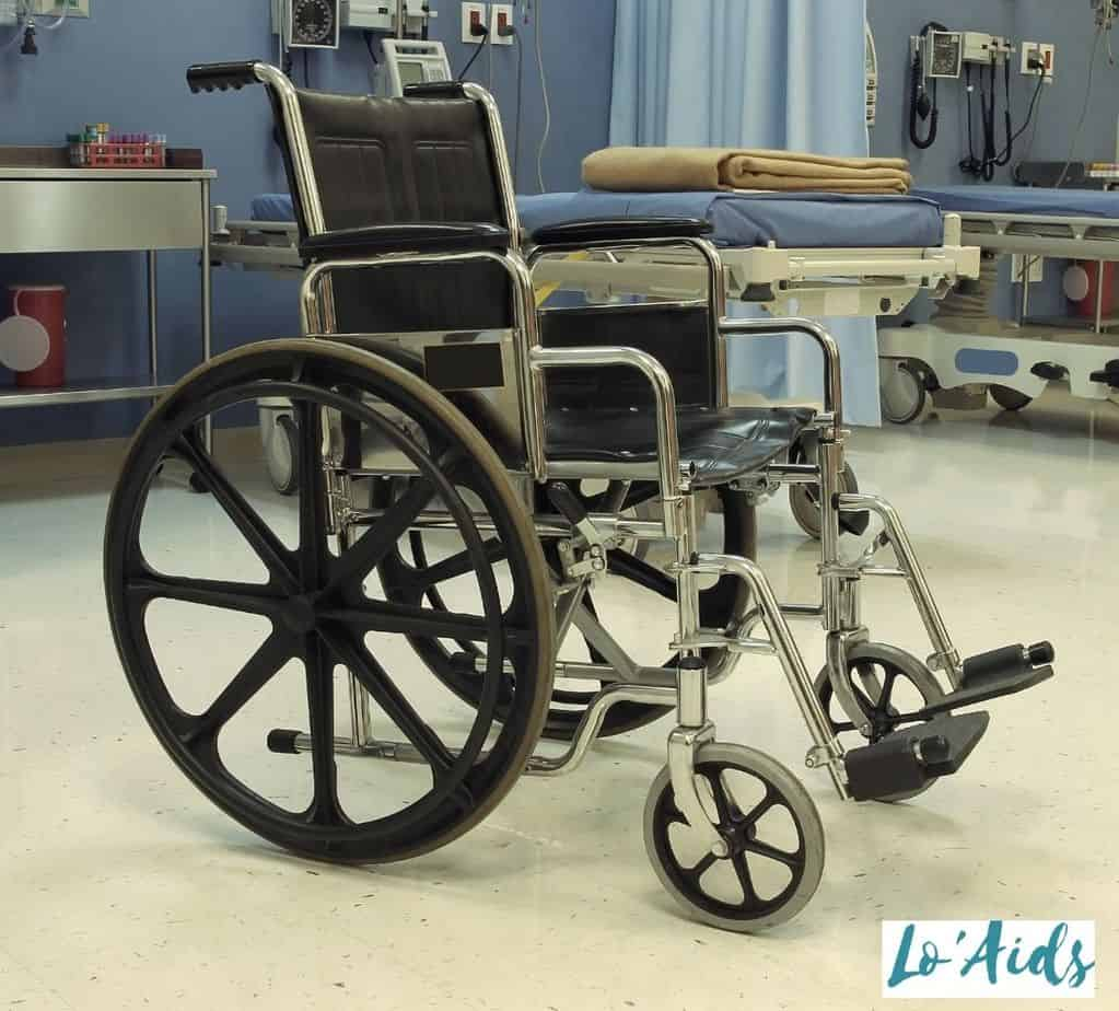 manual wheelchair, one of the most common types of wheelchair