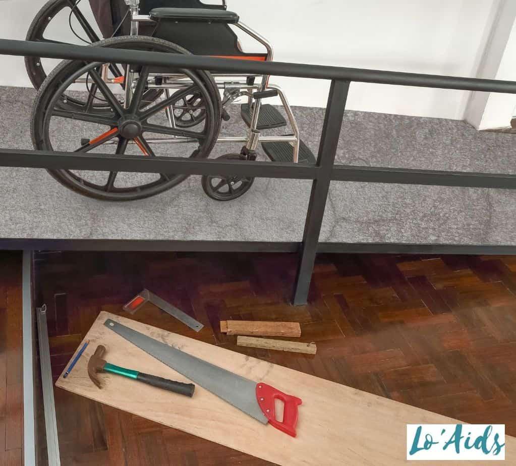 DIY wheelchair ramp: how much does a wheelchair ramp cost?