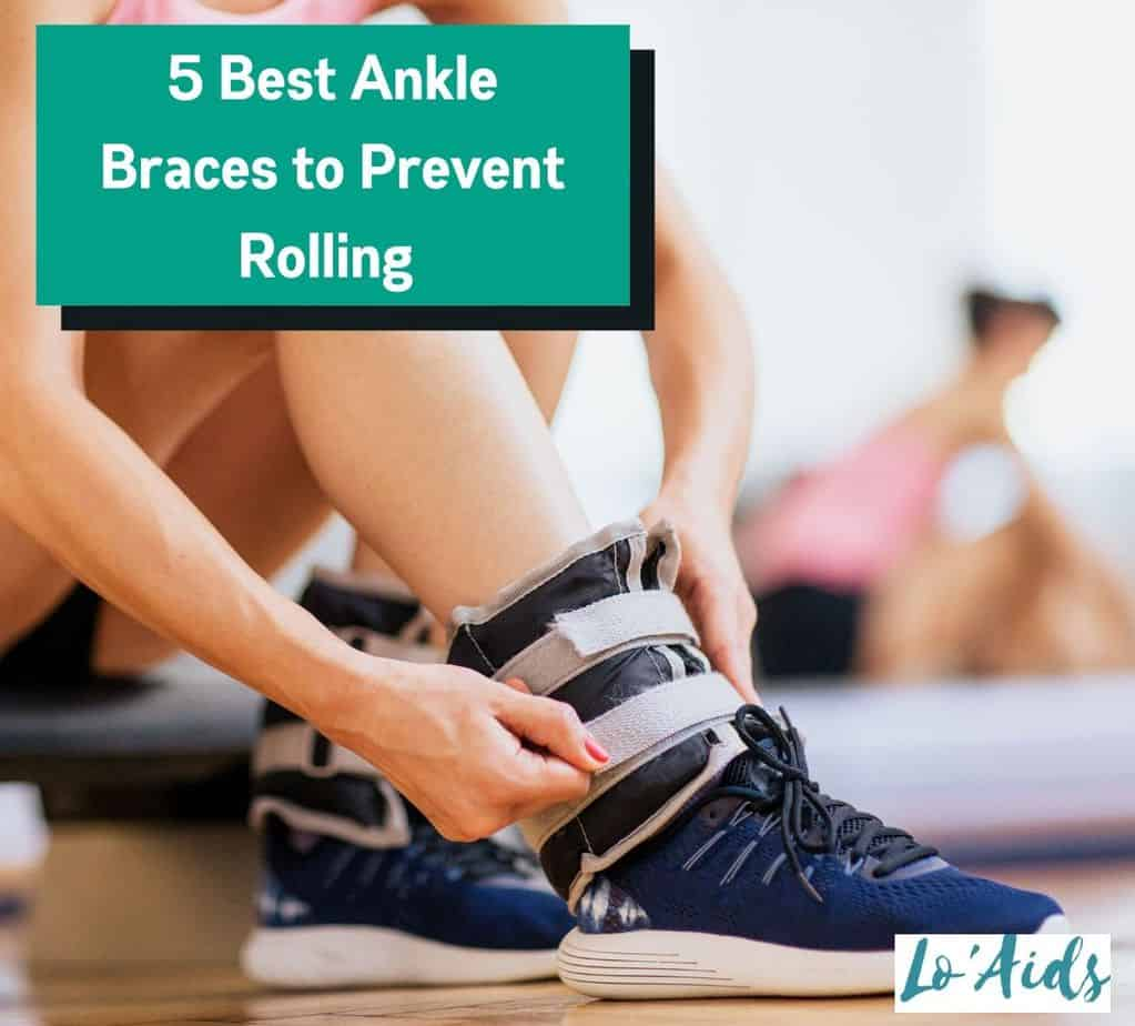 lady putting on the Best Ankle Brace to Prevent Rolling with her shoes