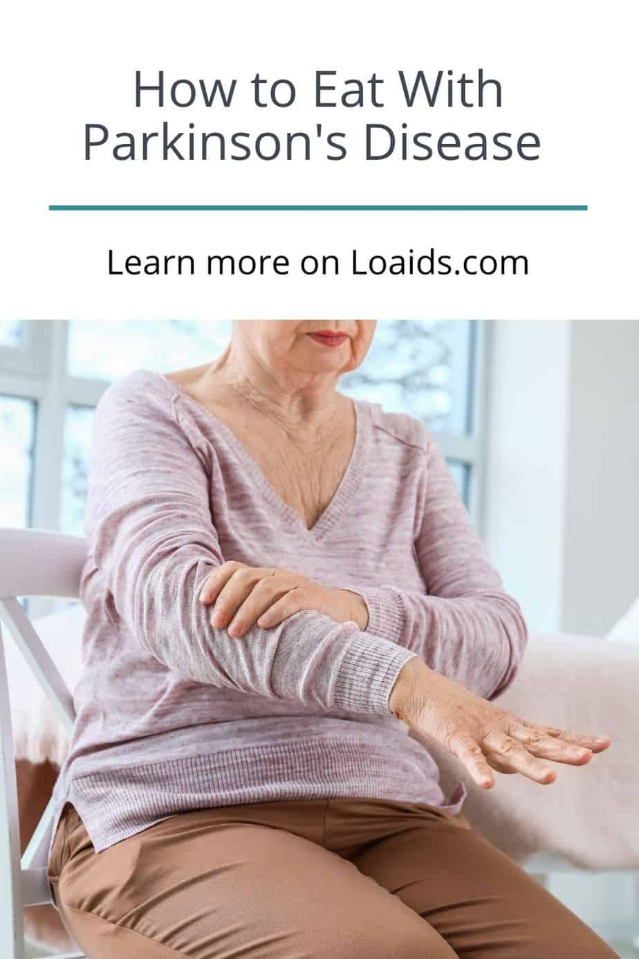 senior woman showing her arms