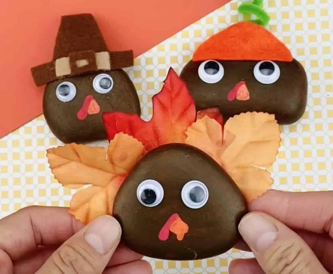 turkey painted rocks