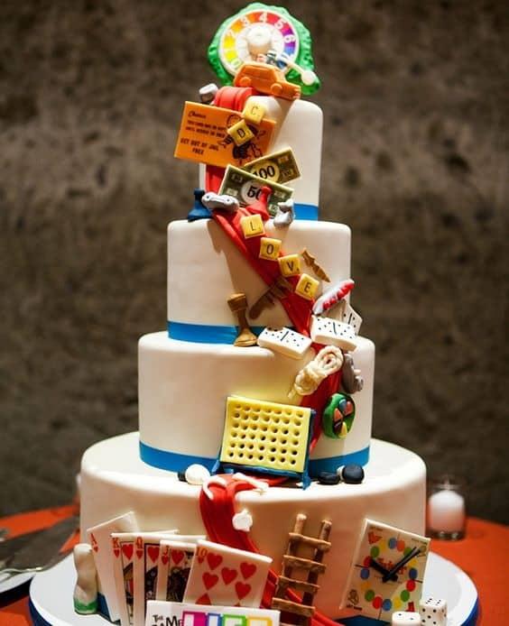 board game 90th birthday cake ideas