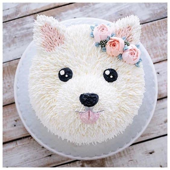 dog cake