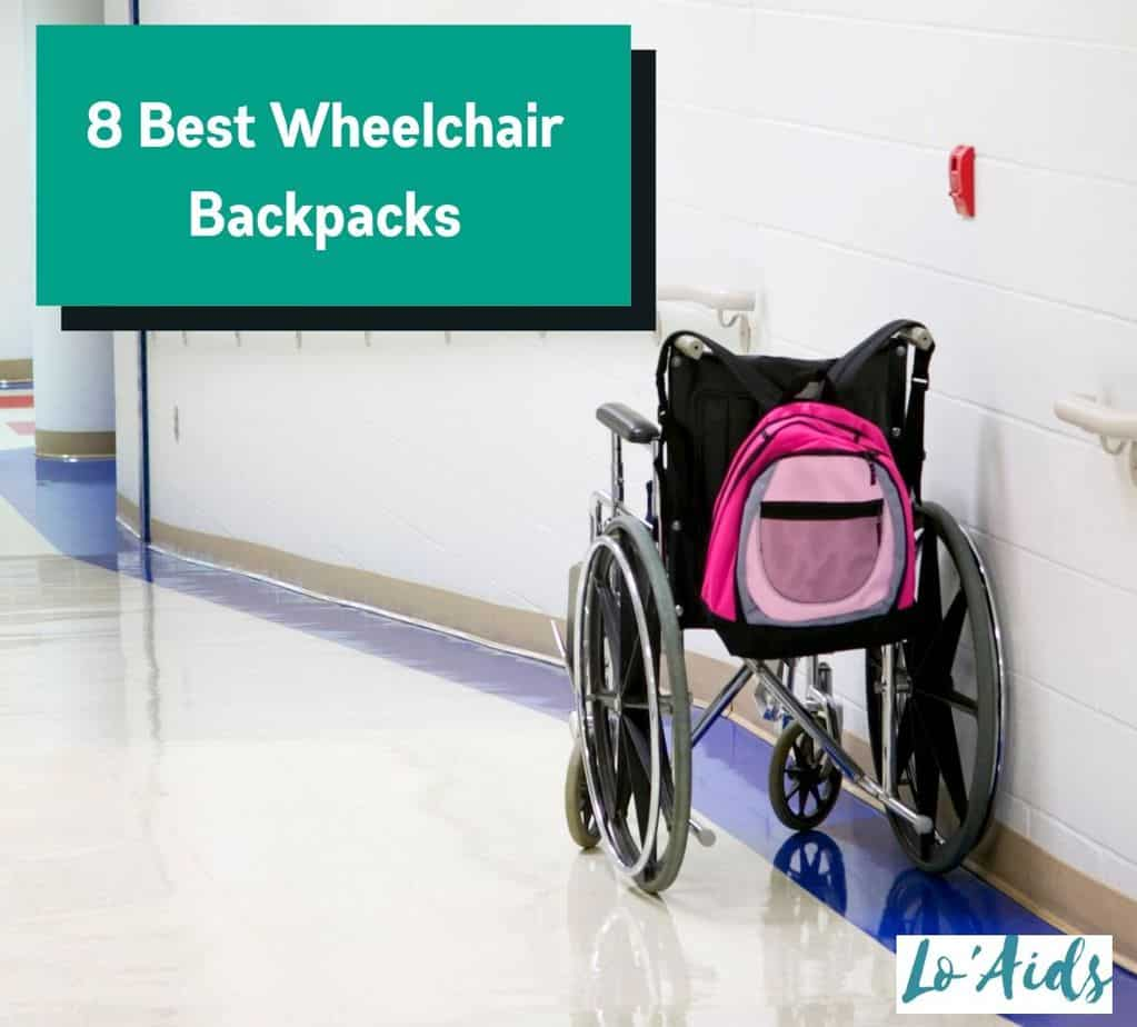 wheelchair with one of the best wheelchair backpacks